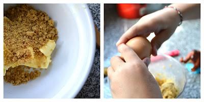 Ingredietes galletas con confites