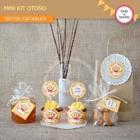 Mini Kit de otoño para imprimir GRATIS!