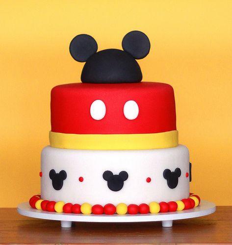 Las 10 tortas más lindas de Mickey Mouse - Todo Bonito