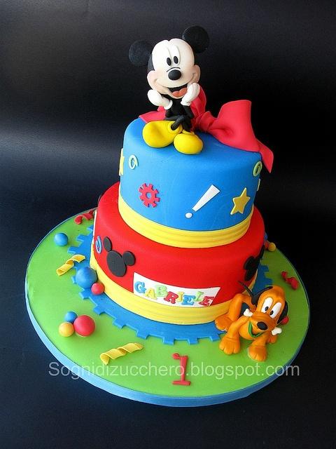 Las 10 tortas más lindas de Mickey Mouse