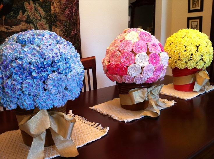 Cupcakes en forma de flores