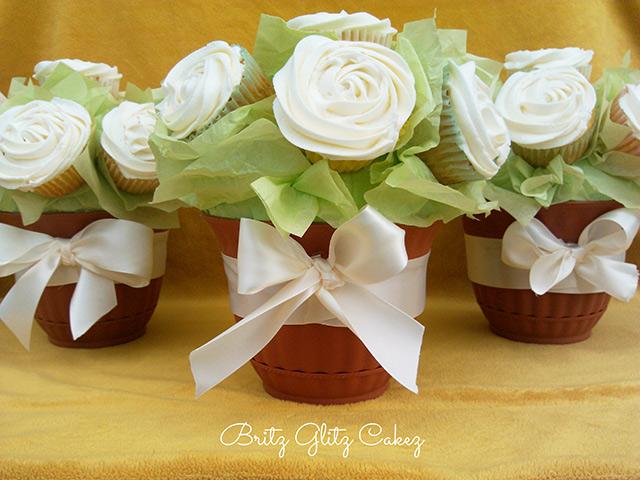 Adornos para mesa de cupcakes