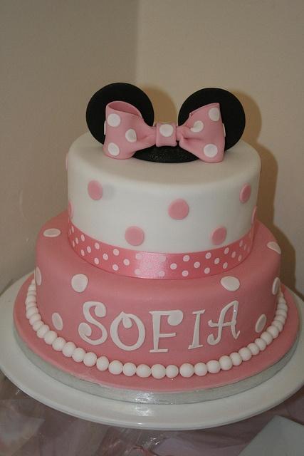 Las 10 tortas más lindas de Minnie Mouse - Todo Bonito