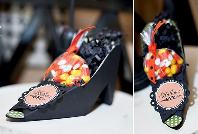 Molde zapato de papel