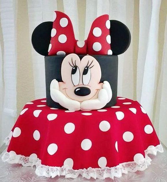 687b47253 Las 10 tortas más lindas de Minnie Mouse - Todo Bonito