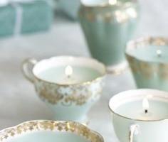 Decorando con velas