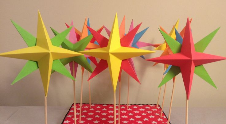 estrellas multicolor