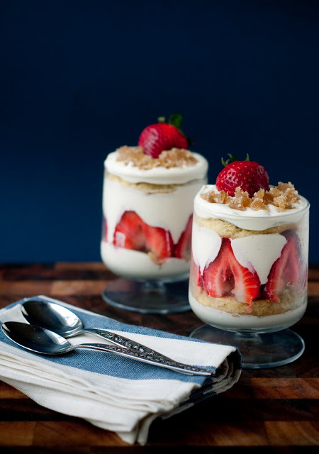 White Chocolate Trifle With Strawberries And Pineapple Recipes ...