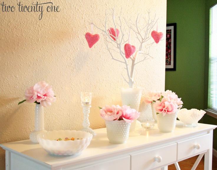 San valentin en rosa y blanco
