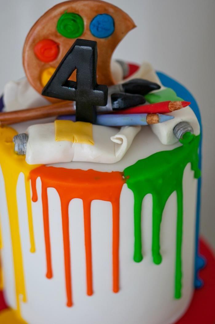 Torta pintura