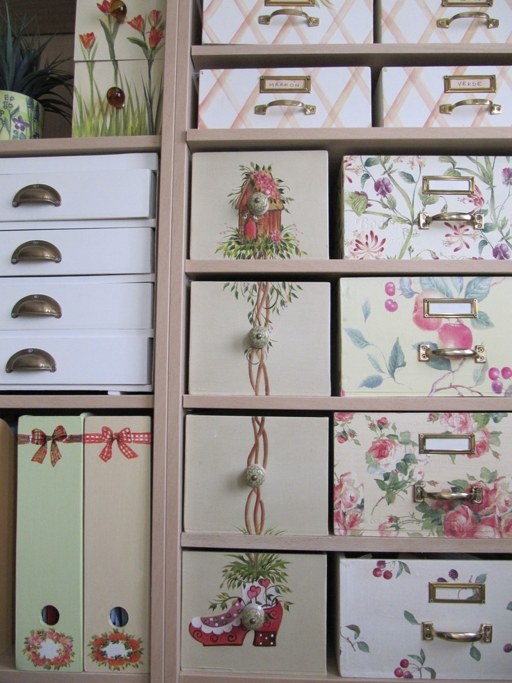 Ideas con decoupage todo bonito - Como decorar un placard ...