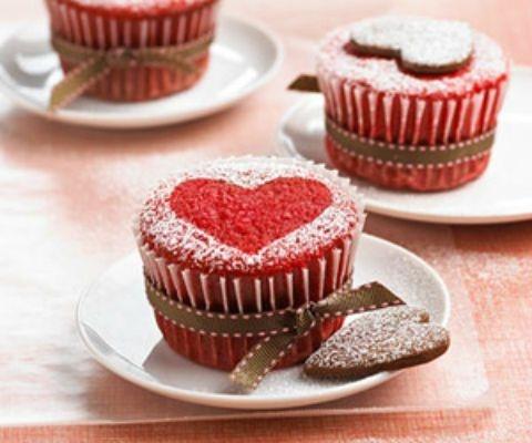 muffins corazon