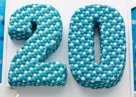 Torta 20 años