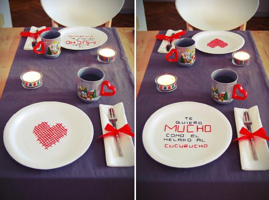Ideas deco mesas - Cenas sencillas para sorprender ...