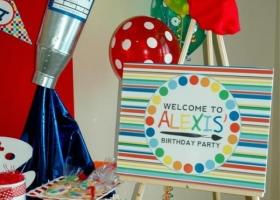 Fiestas temáticas: pequeños artistas