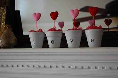macetas corazones