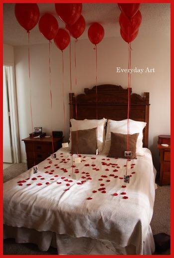 Ideas originales para celebrar san valent n todo bonito for Habitacion 14 de febrero