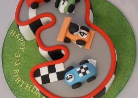 Torta N°3 carrera autos