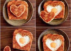 San Valentín: Original Desayuno
