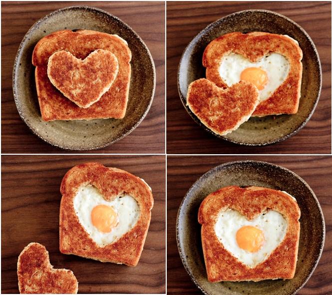 San valent n original desayuno - Preparar desayuno romantico ...