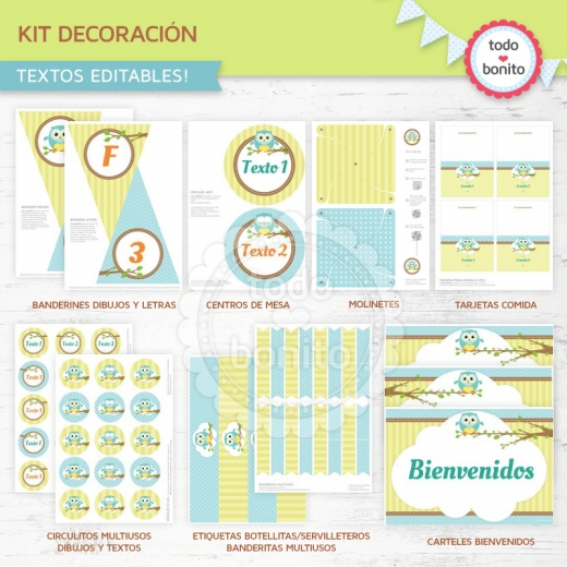 buhos-ninos-kit-decoracion