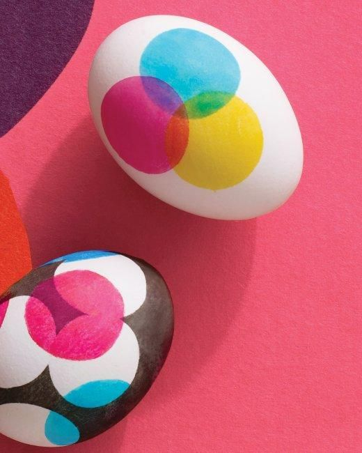 huevos decorados Paleta