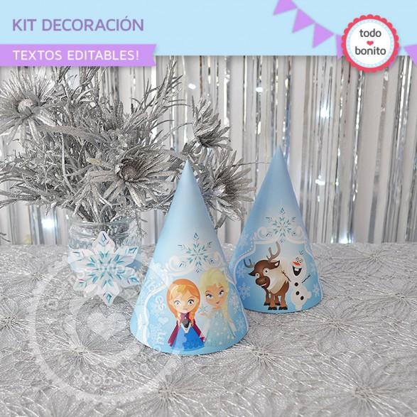 Kit Deco Frozen Gorritos