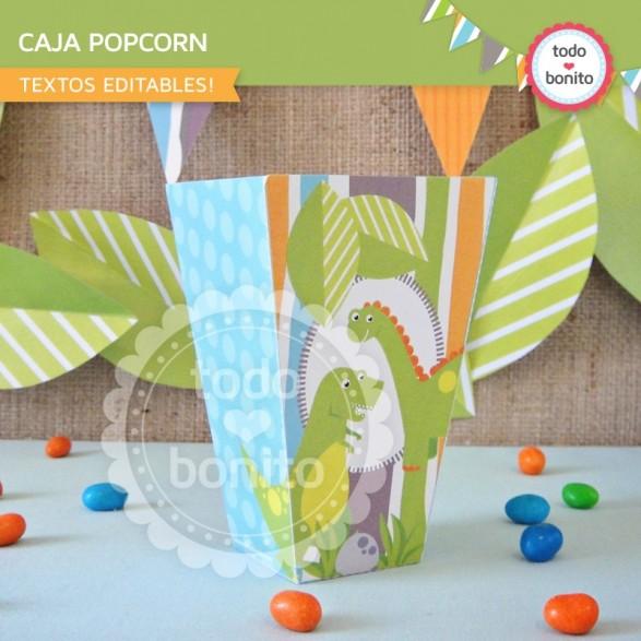 Dino Cajita PopCorn