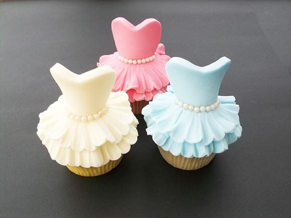 Cupcakes bailarinas