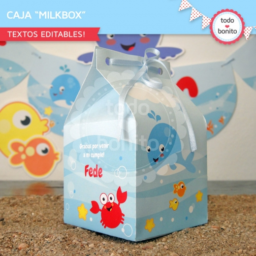 Milk Box Bajo el Mar