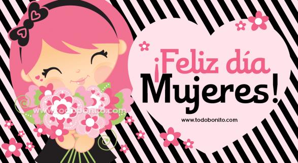 Feliz Día Internacional De La Mujer Todo Bonito