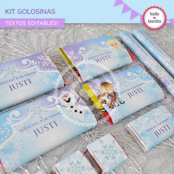Kit Golosinas Frozen