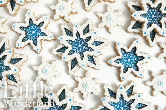 Galletitas de cristal de nieve