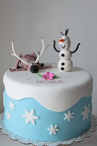 Disney Cake Decorating Ideas : Frozen! tortas para inspirarse - Todo Bonito