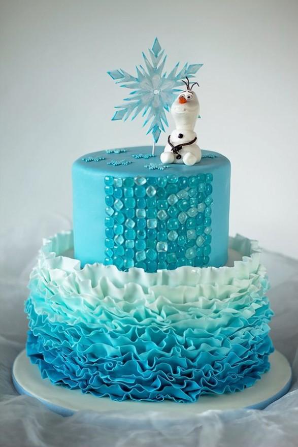 Frozen! tortas para inspirarse - Todo Bonito