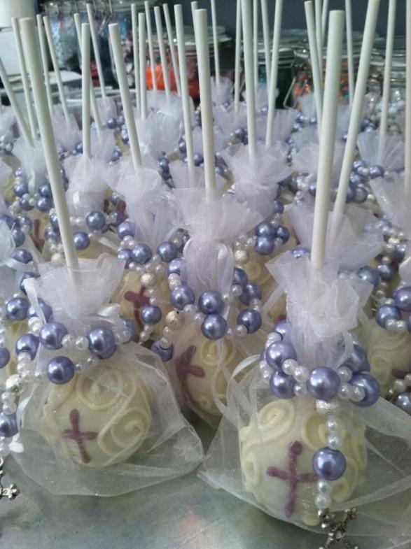 Cakes Pops para comuniones
