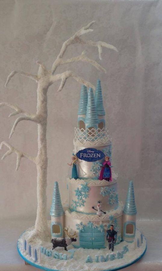 Frozen Birthday Cake San Antonio