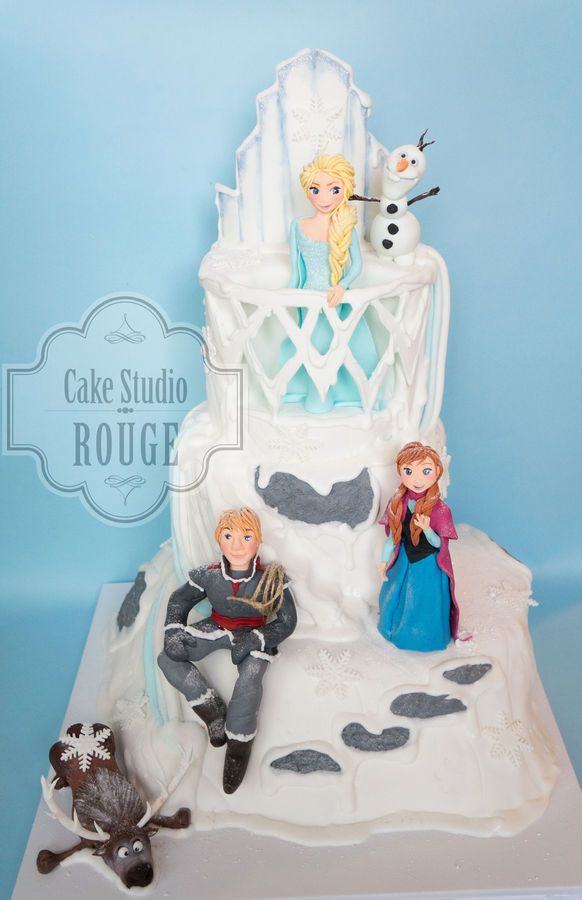 Frozen tortas para inspirarse  Todo Bonito