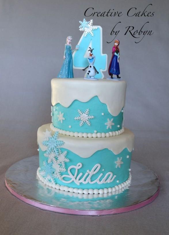 Frozen Cake Design Images : Frozen! tortas para inspirarse - Todo Bonito