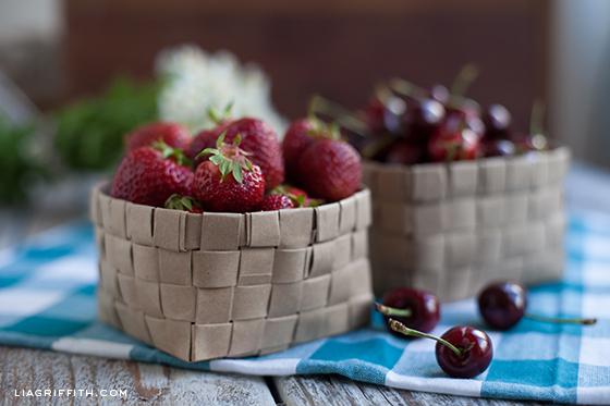 Cesta de frutas