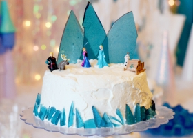 Ideas torta Frozen