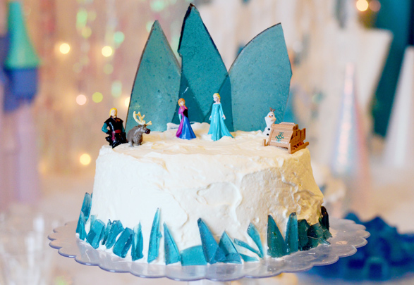 Ideas torta Frozen