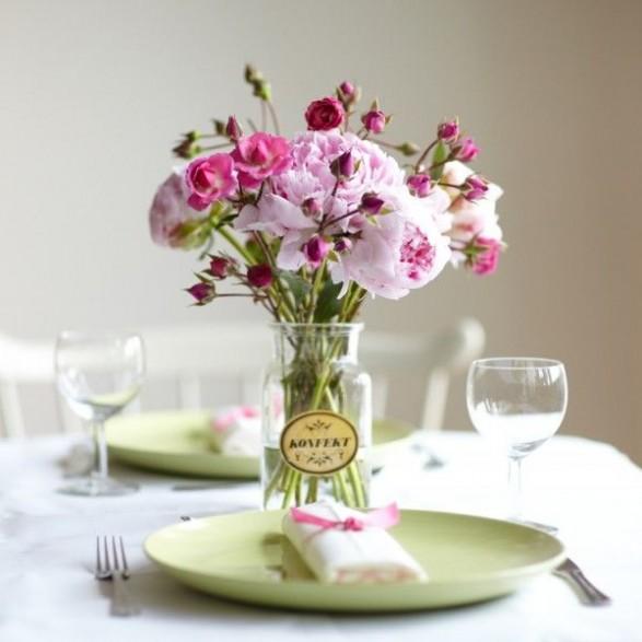 Delicado centro de mesa