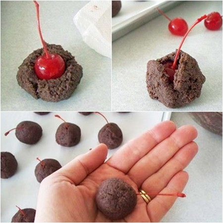 Tutorial Bolitas Cake Pops con Cerezas