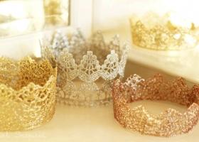 Coronas de Princesas paso a paso