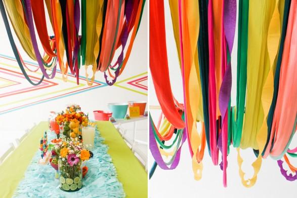 serpentina de colores