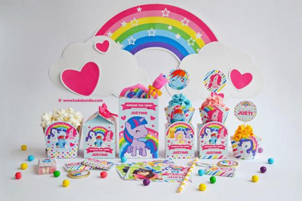 Kit imprimible Pequeño Pony por Todo Bonito