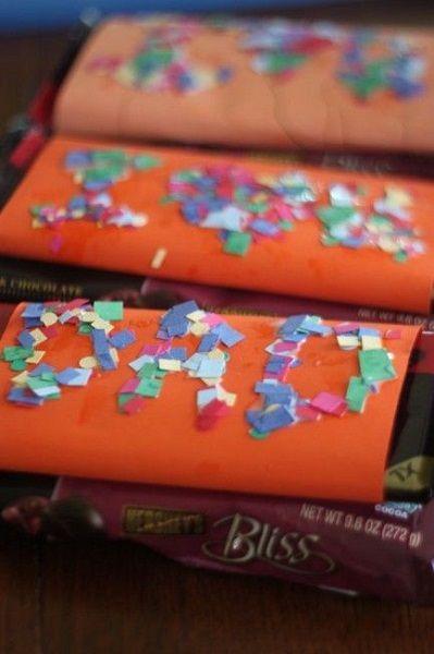 envoltorios para chocolates