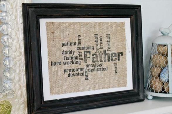 Cuadro día del padre