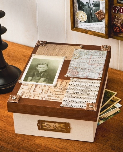 Caja guarda recuerdos